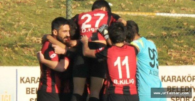 Karaköprü Belediyespor son nefeste kazandı