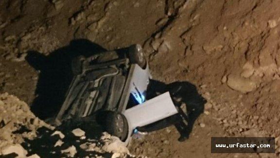 Otomobil şarampole uçtu: 1 ölü