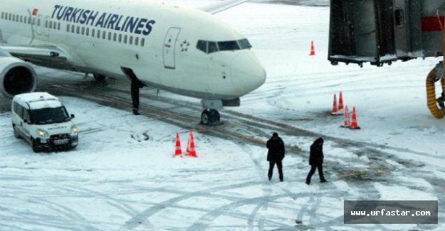 Uçak seferleri iptal edildi