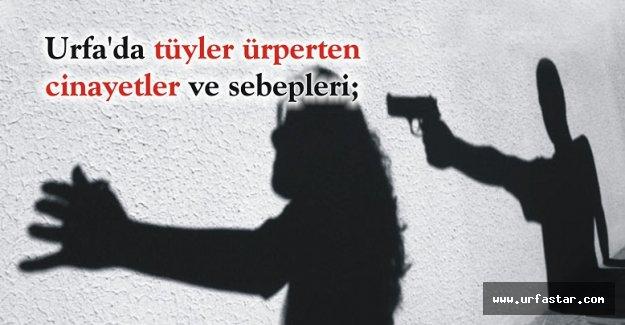 Urfa'da kadın cinayetlerin sır perdesi!