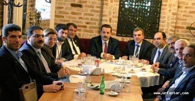Ankara'da buluştular…