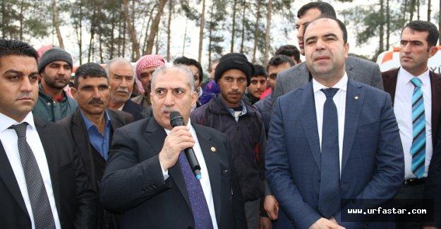 Çiftçi'den Viranşehir'e müjde