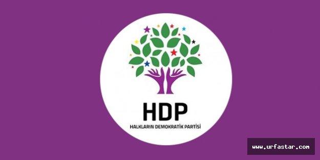HDP'nin Urfa cephesinde şok istifa…