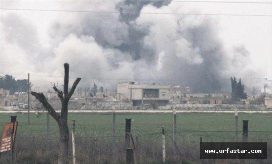 IŞİD'i havadan vurdular