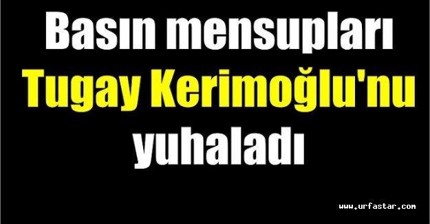 Kerimoğlu ile gazeteciler arasında gerginlik