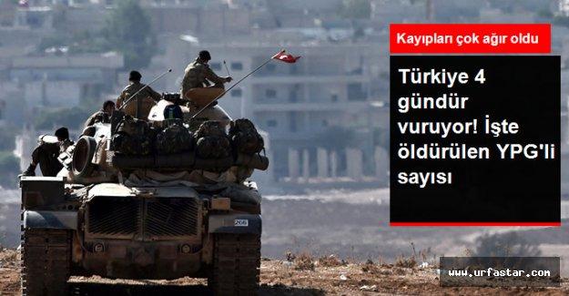 Türkiye'nin YPG'ye saldırısında alınan sonuçlar...
