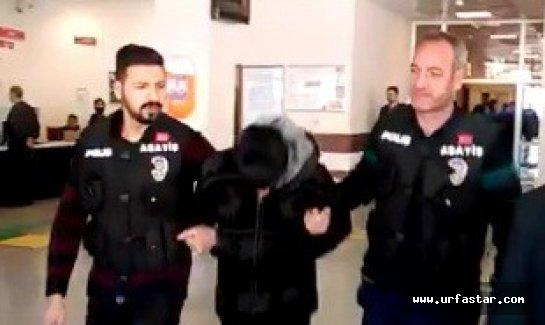 Urfa'da gaspçı yakalandı