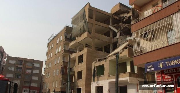 Urfa'da bina çöktü: Ölü ve yaralılar var