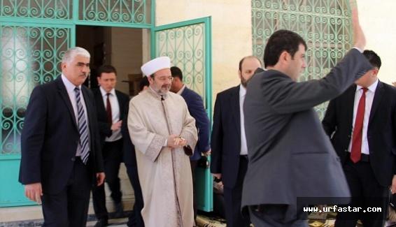 Diyanet İşleri Başkanı, Urfa'da hutbe verdi