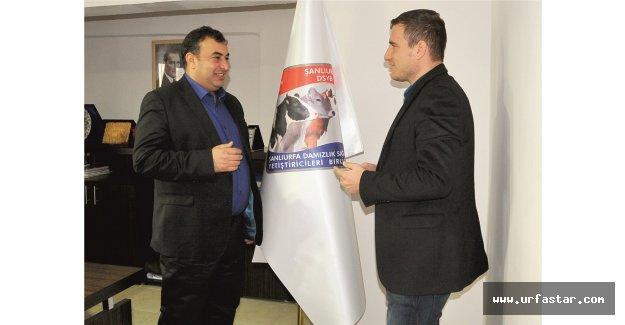 Karadeniz: Urfa'nın süt ürünlerini markalaştırmak istiyoruz