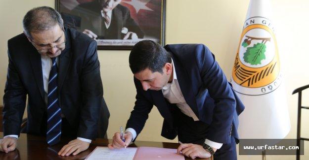 Karaköprü için protokol imzalandı
