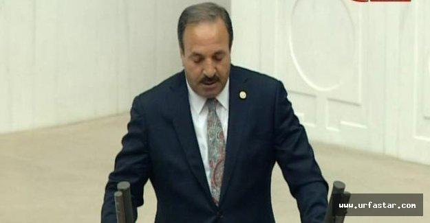 Özcan, Meclis'ten Urfa'ya gönderme yaptı