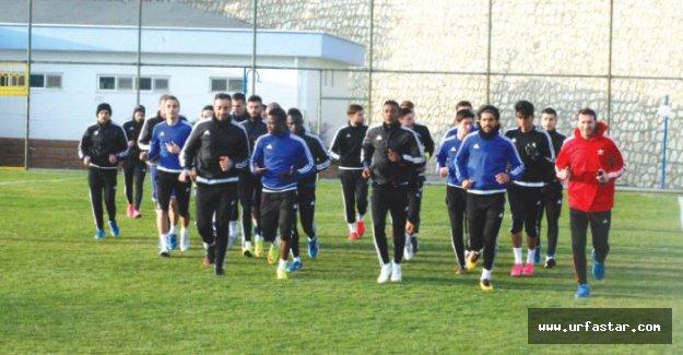 Urfaspor maçına iddialı hazırlanıyorlar…