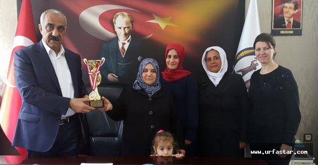 Aşçılık ve Pastacılık Şampiyonasında Hilvan'a İkincilik Ödülü