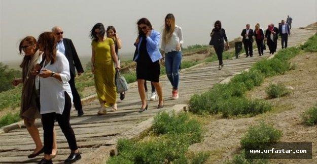 Avrupa'nın Türk politikacıları Harran'da