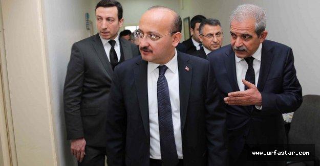 Başbakan Yardımcısı, Demirkol'u ziyaret etti