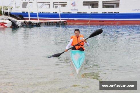 Bozova'da su sporları başladı