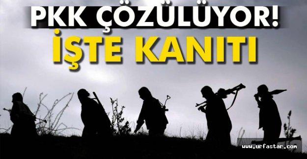 PKK çözülüyor! İşte kanıtı