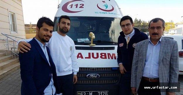Urfa 112'ye Türkiye birinciliği kazandırdı