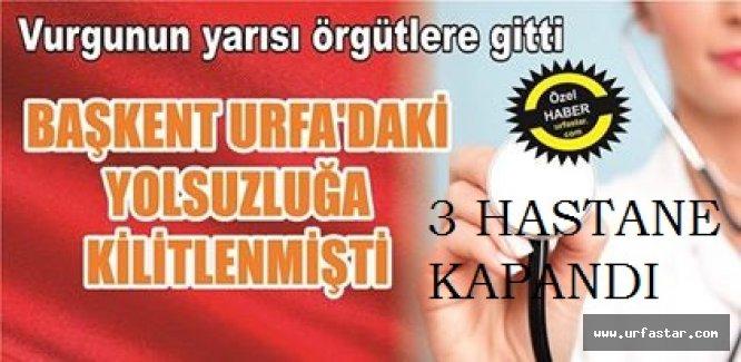 URFA'DA T.C TİCARETİ VURGUNU...