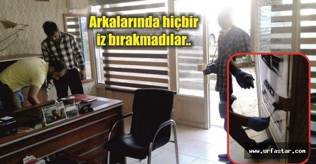 Urfa'da akıl almaz hırsızlık olayı..