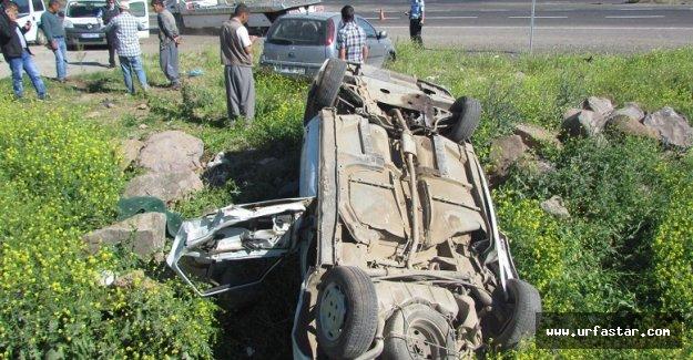 Urfa'da feci kaza, yaralılar var!