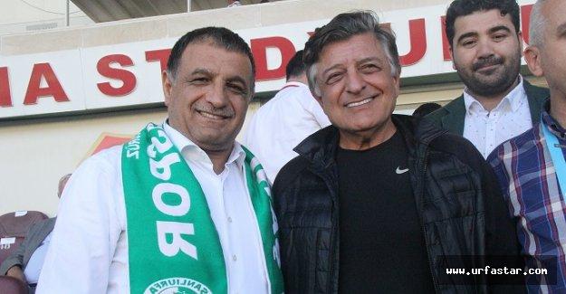 Yılmaz Vural, Urfaspor'a destek verdi
