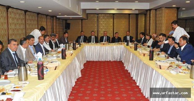 Yüksel: Urfa ve Gaziantep model olmalı