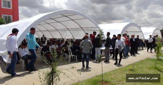 Ceylanpınar'da bekçi alım sınavı iptal edildi