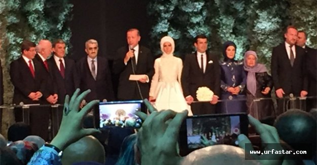 Erdoğan dünya evine girdi