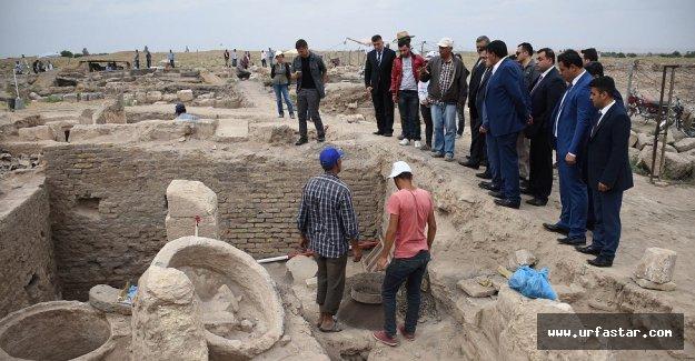 Harran'da kazılar devam ediyor
