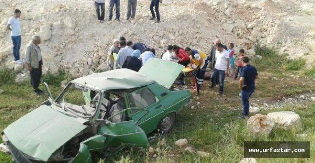 Hilvan'da feci kaza: 9 yaralı
