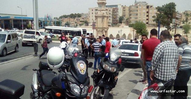 Motorize ekipler kaza yaptı: 2 yaralı