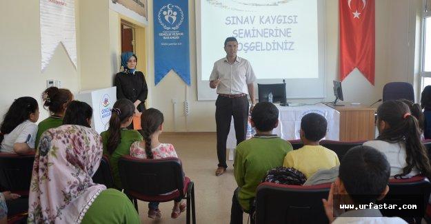 Sınav ve sınav kaygısı semineri düzenlendi
