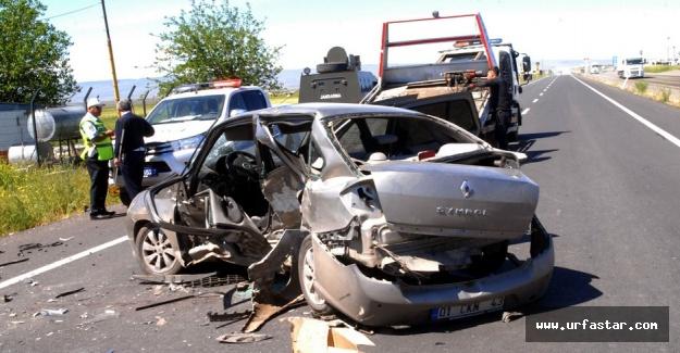 Urfa-Diyarbakır yolunda feci kaza!