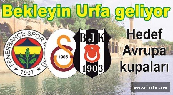 Urfa Süper Lig'de…