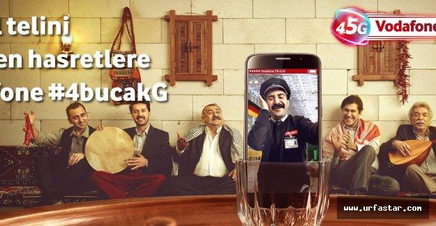 Vodafone'den Urfa'ya özel reklam