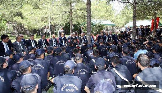22 Emniyet Müdürü Urfa'da