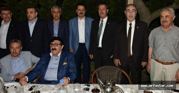 Ankara'da buluştular...