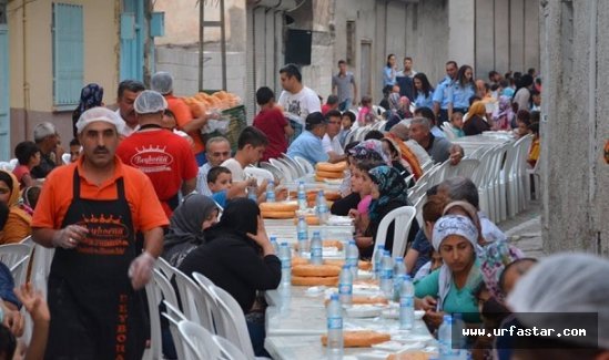 Birecik'te her mahalleye iftar…