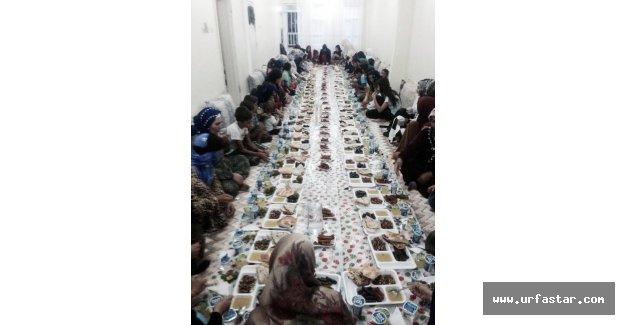 Fakir Yetimler için en zengin iftar sofrası