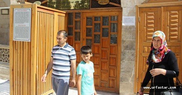 Hz. İbrahim mağarası yeniden ziyarete açıldı