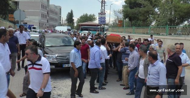 Mardin'deki patlamada ölen şoför Urfa'da defnedildi