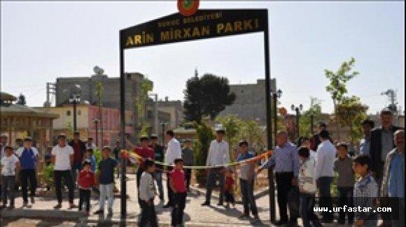 Terörist ismi parka verildi