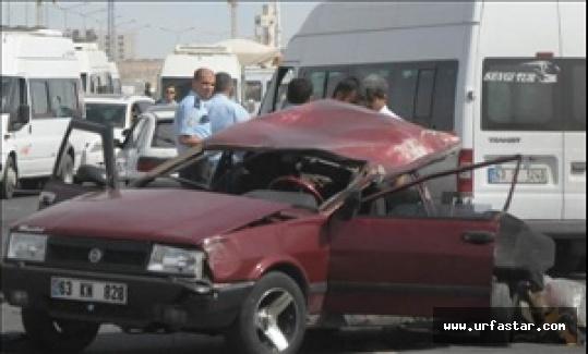 Urfa'da öğrenciler kaza yaptı: 1 ölü