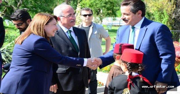 Urfa'ya atanan Vali ile TiGEM'de buluştu...