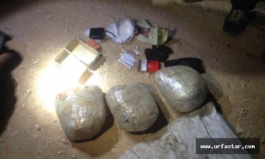 Urfa'da 20 kilo patlayıcı ele geçirildi