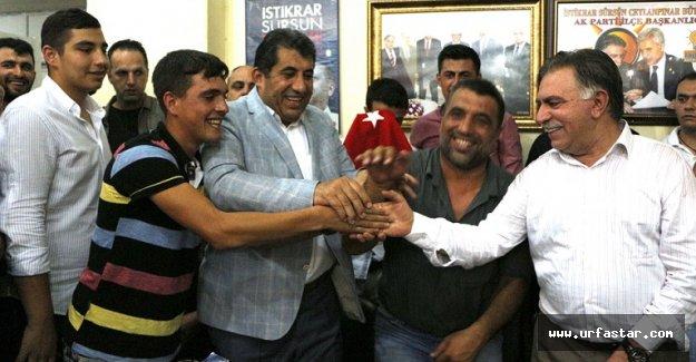 Ceylanpınar'da HDP'den Ak Parti'ye büyük katılım