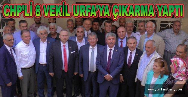 DEDAŞ sorunu için Urfa'dalar...