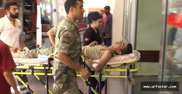 Flaş.. Urfa'da asker çatıdan düştü